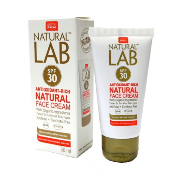 Island Tribe Natural Lab SPF 30 Face Cream -GS Accessoires - Natural Lab SPF 30 Face Cream - Island Tribe