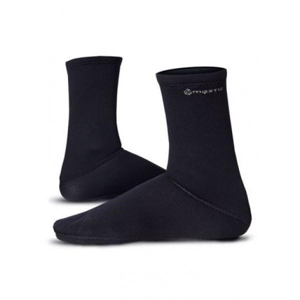 Mystic Neoprene Semi Dry Socks 2mm -Laarsjes & Schoentjes - Neoprene Semi Dry Socks 2mm - Mystic