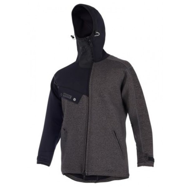 Mystic Ocean Neoprene Jacket Black -Thermo & Lycra - Ocean Neoprene Jacket Black - Mystic