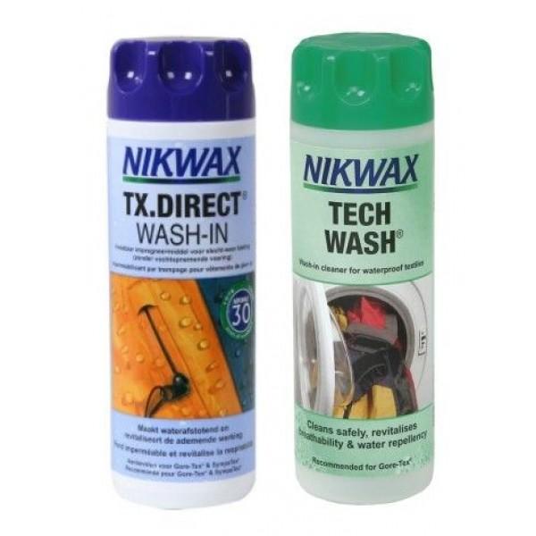 NikWax Duopack -Onderhoudsproducten - Duopack - Nikwax