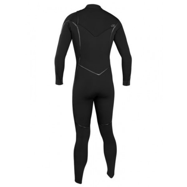 O'Neill Psycho One 5/4 Chest Zip Full Blk/Blk