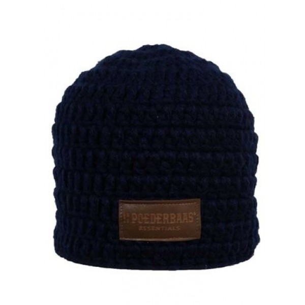 Poederbaas Beanie Daily Life Donker Blauw -GS Accessoires