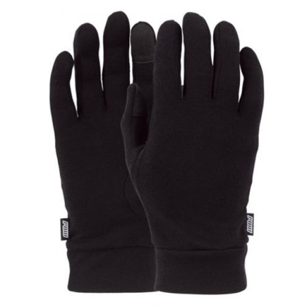 POW Glove Warner GTX Long Black + Liner