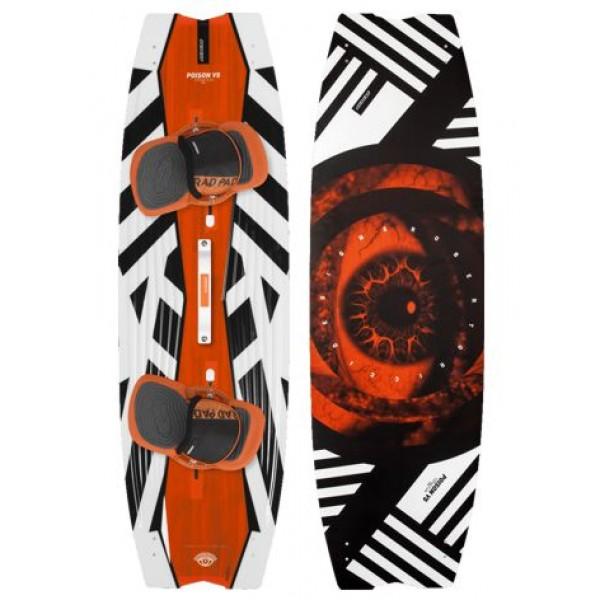 RRD Poison V5 Wood -Kitesurfboards - Poison V5 Wood - RRD