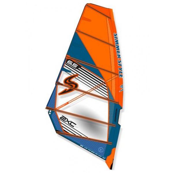 Simmer 2XC 2020 Orange -Zeilen - 2XC 2020 Orange - Simmer Style