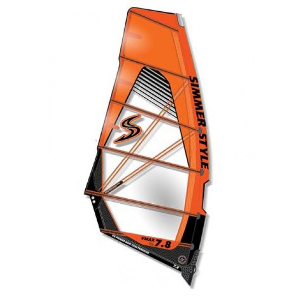 Simmer VMax 2018 Orange -Zeilen