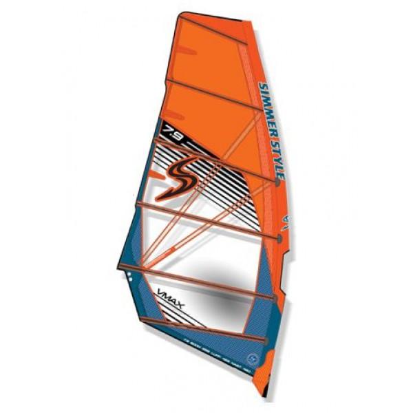 Simmer VMax 2019 Orange -Zeilen - VMax 2019 - Simmer Style
