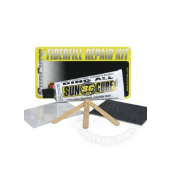 Suncure Fibrefill Polyester Repair Kit -Reparatie - Fibrefill Polyester Repair Kit - Sun Cure