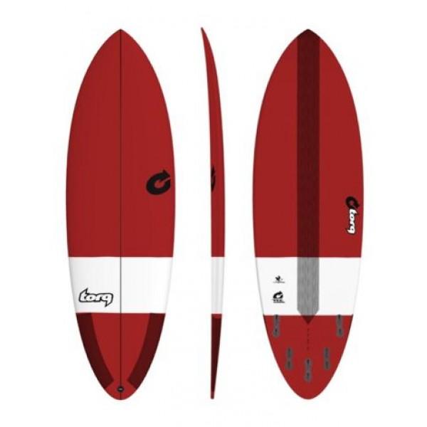 Torq Surfboard Hybrid TEC Bordeaux -Surfboards - Hybrid TEC Bordeaux - Torq