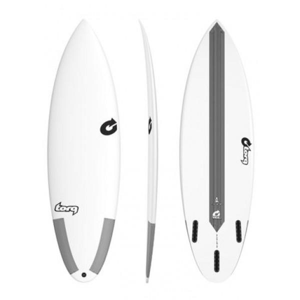 Torq Surfboard Thruster TEC White -Surfboards - Thruster TEC White - Torq