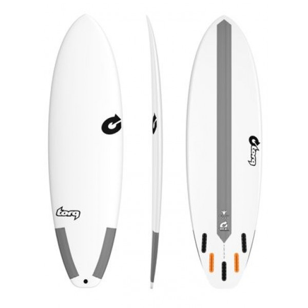 Torq Surfboards Big Boy TEC White -Surfboards - Big Boy TEC White - Torq