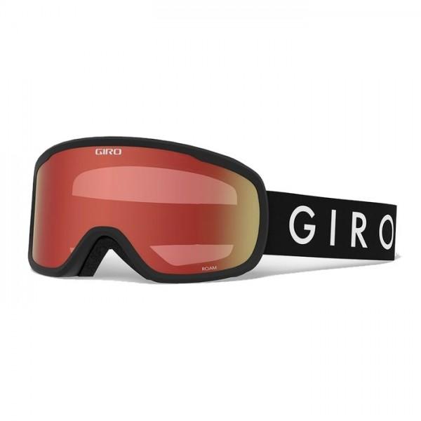 Giro Roam Black + Amber Scarlet & Yellow Lens -Goggles - Roam Black + Amber & Yellow Lens - Giro