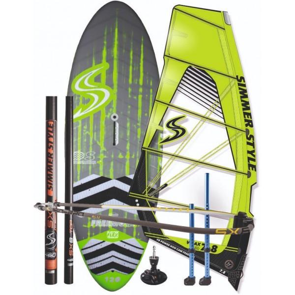 Simmer Freeride/Freerace Set -Windsurfsets - Freeride/Freerace Set - Simmer Style